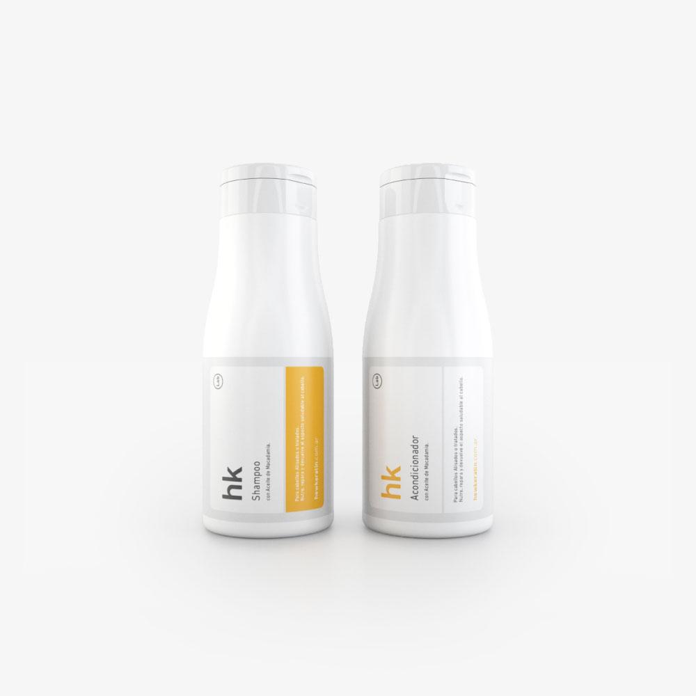 Kit Shampoo + Acondicionador 350ml.